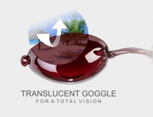 translucent goggle